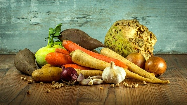 classification of vegetables and their uses