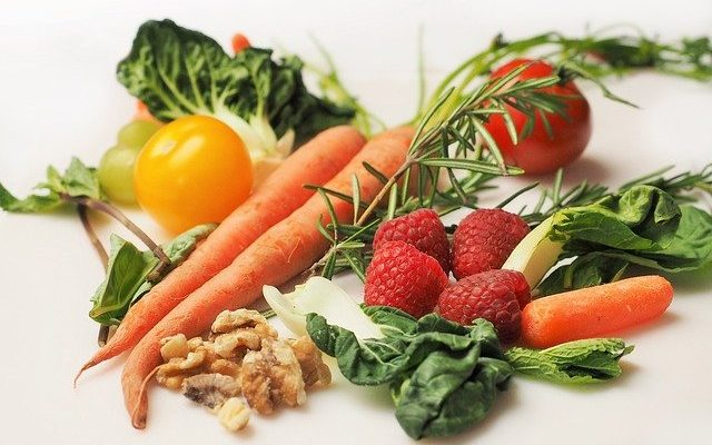 The effects of cooking vegetables and fruits