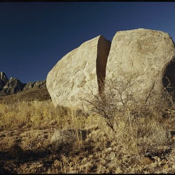 What is physical weathering of rocks